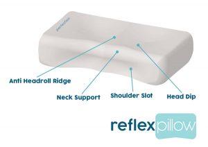 reflex pillow - best pillow for neck pain